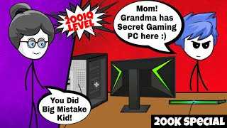 What if your Grandma is a Gamer part 2