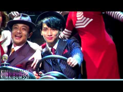 [HD fancam] 130905 뮤지컬 보니앤클라이드 커튼콜 (Musical Bonnie&Clyde curtain call) - SHINee KEY
