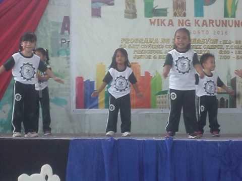 Modern Dance presented by Pre School students (Dinoela Delaine M. Abad)