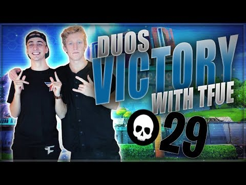 Tfue emotes over a bullet?! FaZe Duo. Warmup 29 kill win with FaZe Tfue!