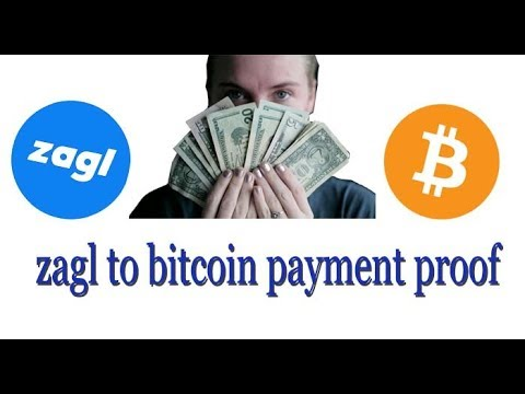 My 2nd Payout From Zagl To Bitcoin -  Payment Proof Highest Paying Url Shortener India