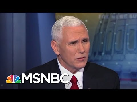 Mike Pence's 3 Russia Defenses | The Beat With Ari Melber | MSNBC