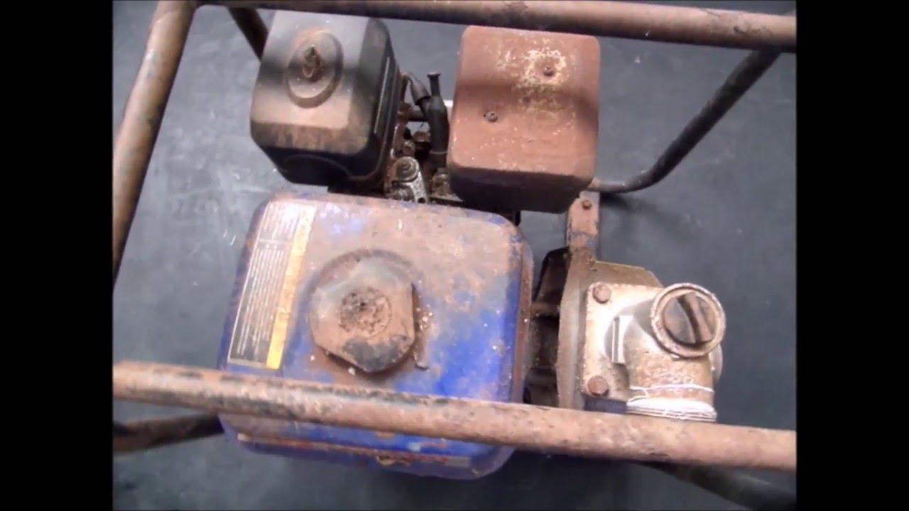 Motobomba Yamaho YH20-C - Revisão Completa - Regul. Válvulas / Carburador / Vela Ignição