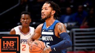 Minnesota Timberwolves vs LA Clippers Full Game Highlights | 11.05.2018, NBA Season