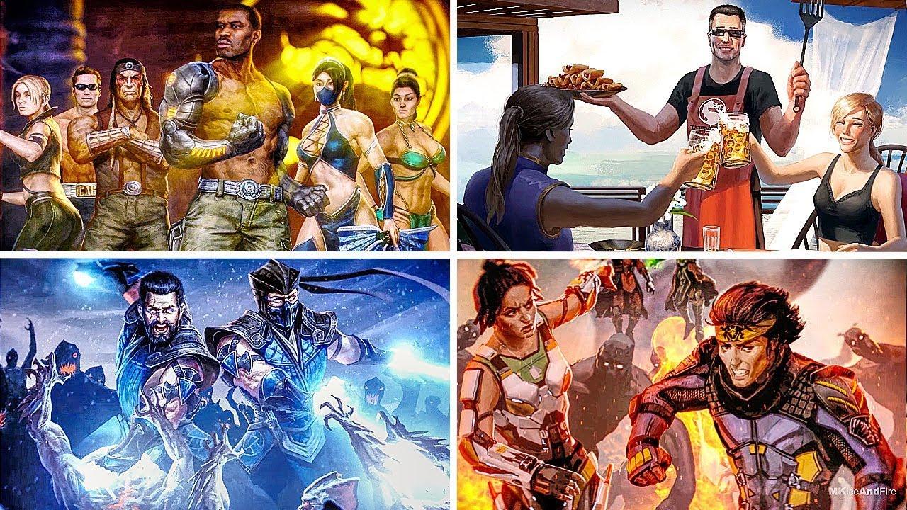 Mortal Kombat 11 endings: all three story endings explained | PCGamesN