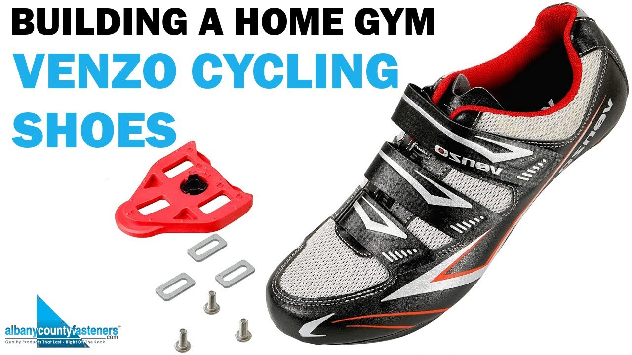 How To Build a Home Gym - Venzo Cycling Shoes | DIY With Bob