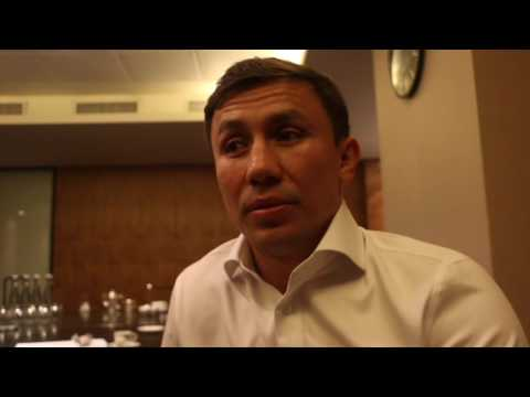 GENNADY GOLOVKIN TALKS CANELO, BRANDS SAUNDERS 'A CLOWN', MAYWEATHER-McGREGOR 'NOT GOOD FOR BOXING'