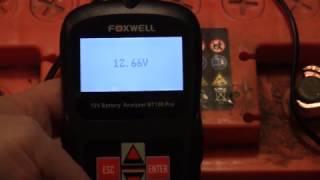 Тестер Foxwell BT100 Pro + АКБ Курський 60 Ач