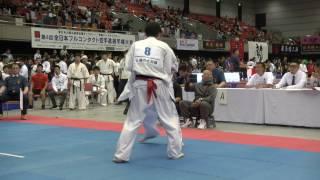 【JFKO】第4回全日本フルコンタクト空手道選手権大会 男子軽量級 1回戦Aブロック1