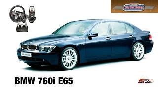BMW 760i E65 - тест-драйв, обзор автомобиль премиум класса в City Car Driving