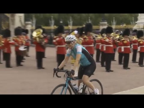 Countess of Wessex's 450 mile cycling challenge ends in triumph