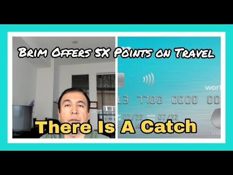 Brim Credit Card Offers 5X Points on Travel Spend (With A Catch) - Brim  Updates