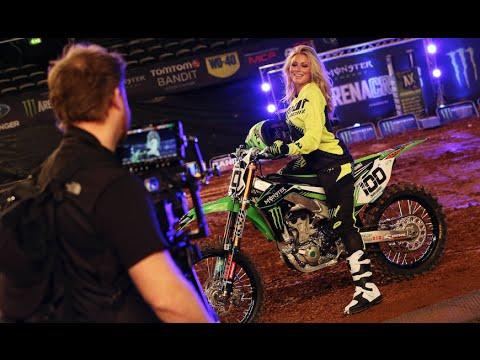 Dianna Dalhgren Hits the Arenacross UK Tour