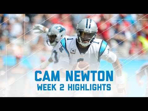 Every Cam Newton Throw | 49ers vs. Panthers | NFL Week 2 Player Highlights
