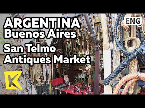【K】Argentina Travel-Buenos Aires[아르헨티나 여행-부에노스아이레스]산 텔모 골동품 시장/San Telmo Antiques Market/Store