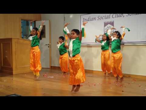Indian patriotic fusion dance by kids