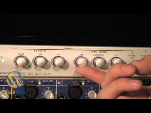 Aphex 204: Combining The Aural Exciter And Big Bottom