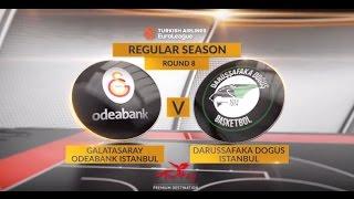 Highlights: Galatasaray Odeabank Istanbul-Darussafaka Dogus Istanbul