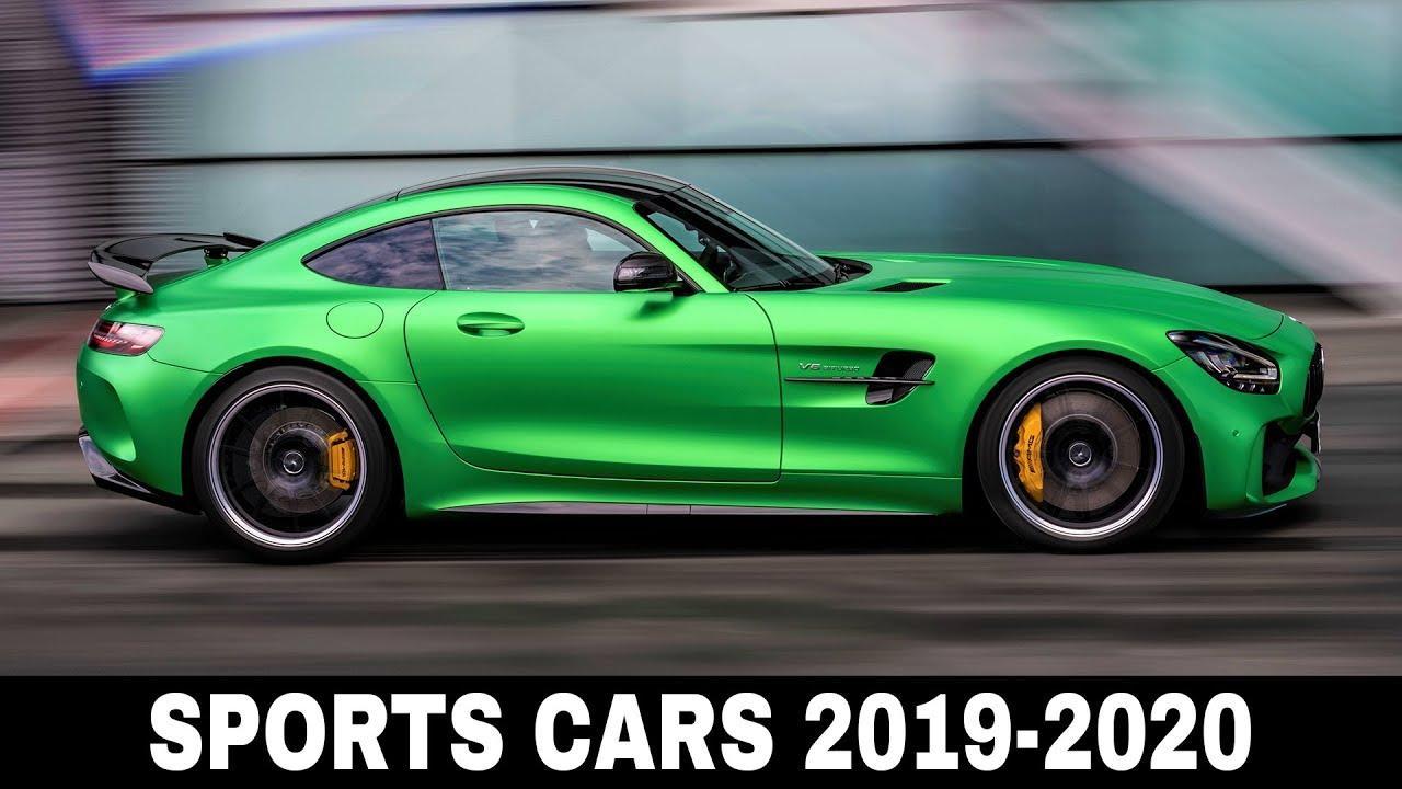 10 new sports cars with record breaking performance that will arrive by 2020