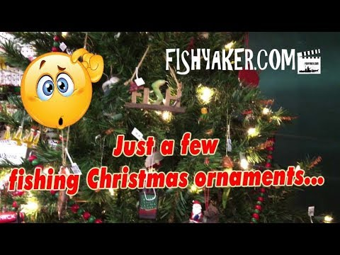 Christmas Ornaments for the Ultimate Fisherman!
