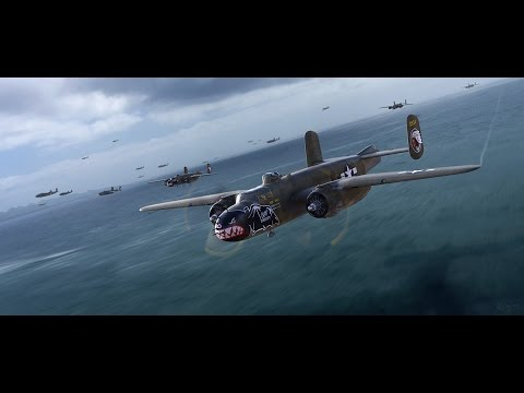 War thunder | B 25 Mitchell | short movie