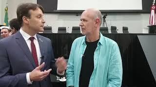 Entrevista com Stephenson Victer, Presidente da AMPCOM