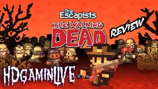 The Escapists: The Walking Dead PS4 Review - Does This Game Use its License to its Full Potential?