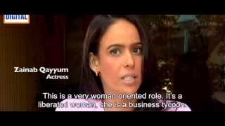 "Actress Zenab Qayyum discussing TV Drama Serial ""Riyasat"" Aka ""The Kingdom of Hearts"""