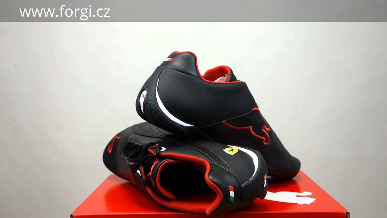 PUMA Pánské boty Future Cat Leather SF - black-black 305735-02 - YouTube 0caaa67e636