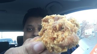 Eating Popeyes Classic Cajun Wings
