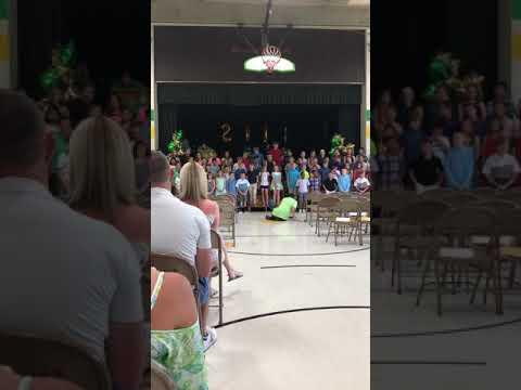 Wohlwend Elementary School graduation