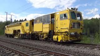 Railway track repair-VR Track- junaradan korjaus