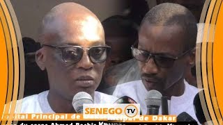 Levée du corps Ahmed Bachir Kounta : Différend Abdoulaye Fofana et Racine Talla