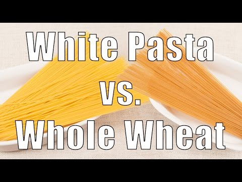 Refined Wheat Pasta vs Whole Wheat Pasta (Med Diet Ep. 143) DiTuro Productions