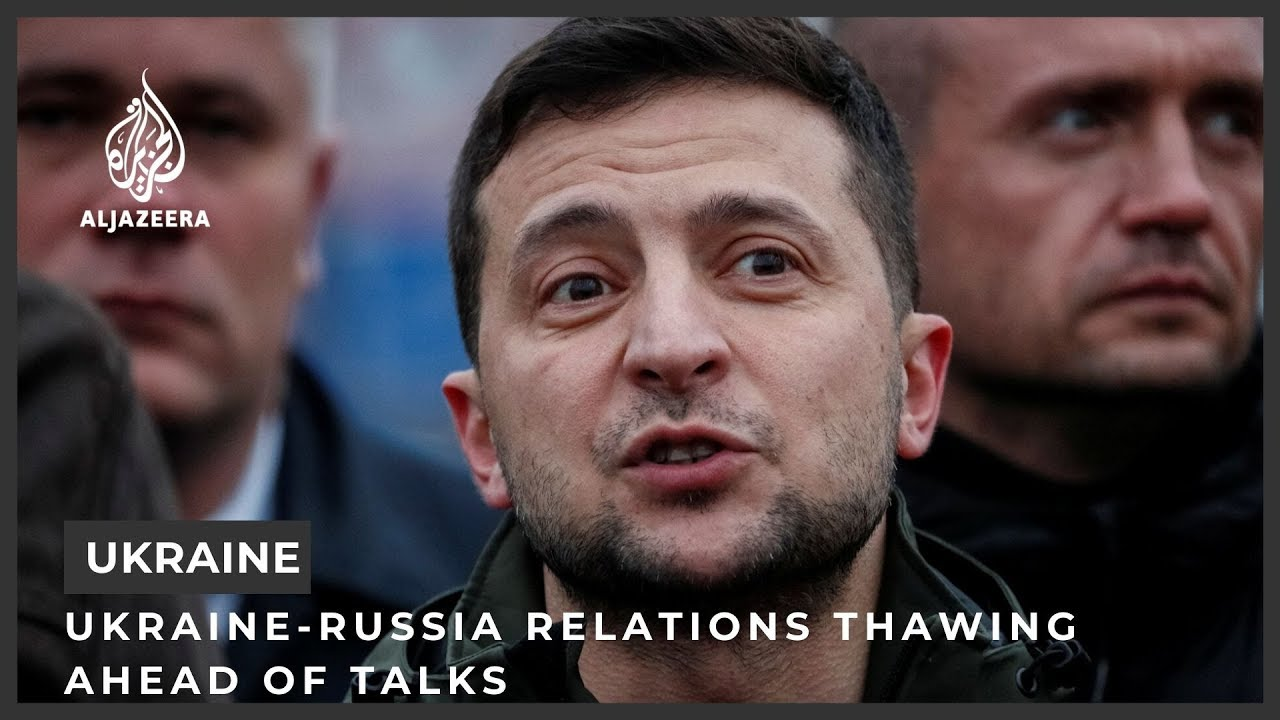 Download Ukraine-Russia relations thawing ahead of talks