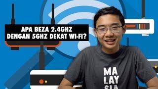 Apa Beza 2.4GHz dengan 5GHz dekat Wi-Fi?