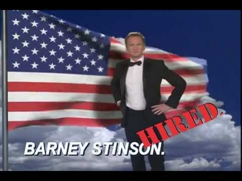 Barney Stinson Video Resume (Website Version) - YouTube - Video Resume Website