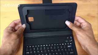 capa case teclado keyboard bluetooth samsung galaxy tab 3 7