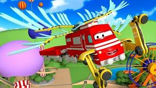 Tren para niños - El Aero Tren - Troy el Tren en Auto City !