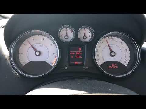 Peugeot 408, 1.6 turbo, 150л.с., 6АКПП, расход топлива на 110км/ч., 2012 года.
