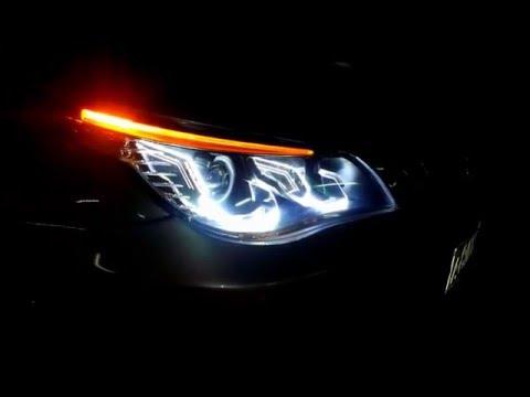 BMW 3 E46 Bi-xenon projector headlight retrofit kit exp ...