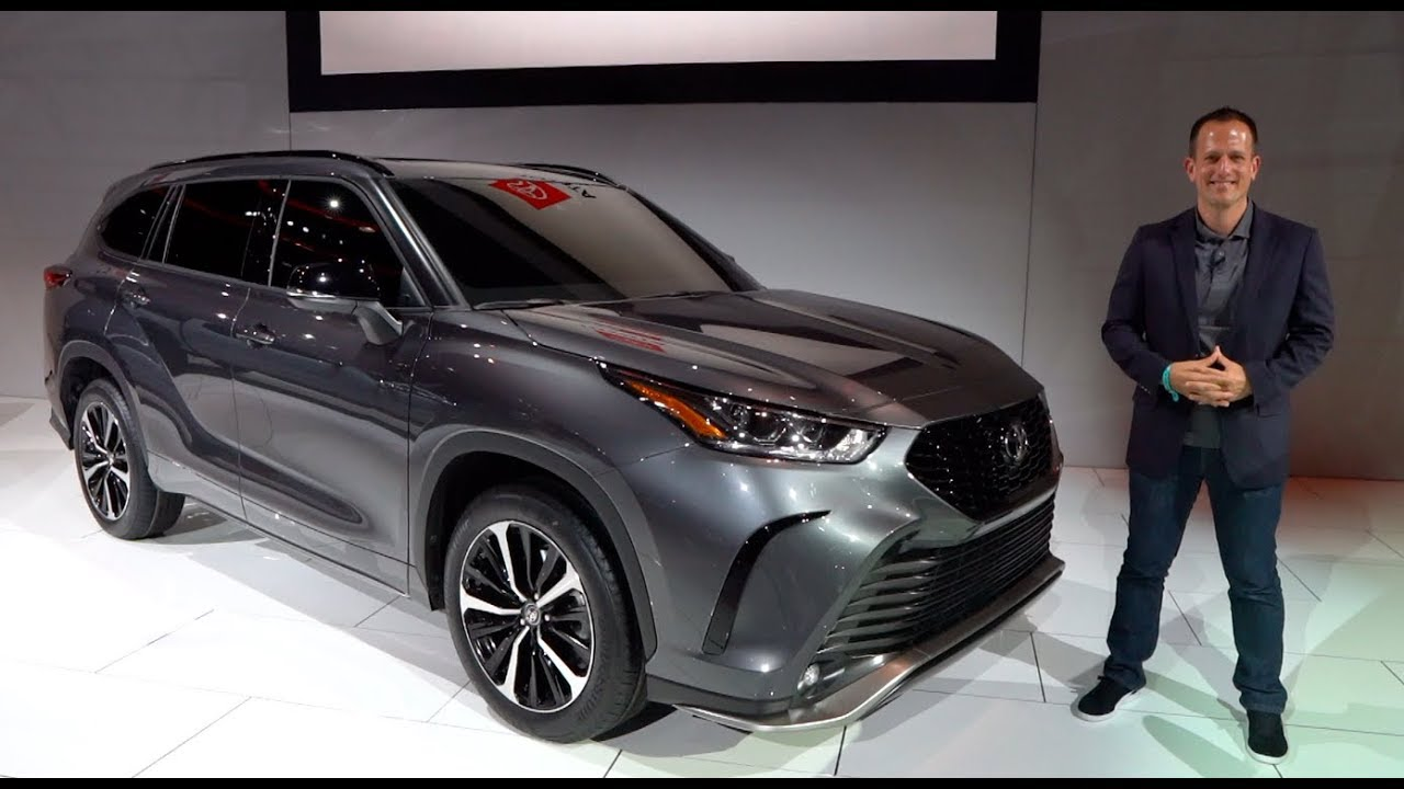Is The 2021 Toyota Highlander Xse A Real Performance Suv Youtube