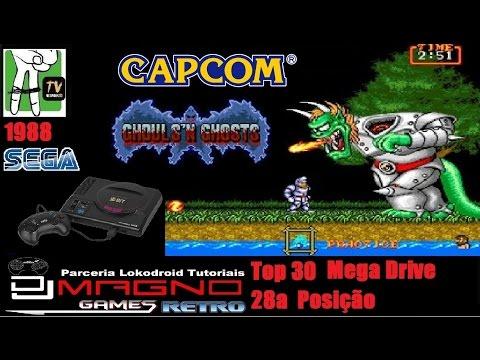 Ghous Ghosts Capcom® 1988 Sega® 1988  Mega Drive Top 30