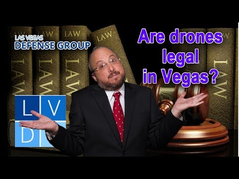 Is it legal to fly a drone in Las Vegas? Three things to know