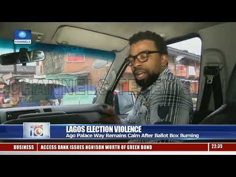 CTV's Olu Phillips Assesses How Okota Election Violence Happened 50 Metres From Police Post
