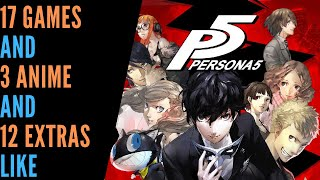 Games Like Persona 5 | Like That? Try This!