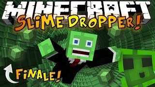 Minecraft: The Dropper SLIME BOUNCE - Slime Parkour RAGE [2]