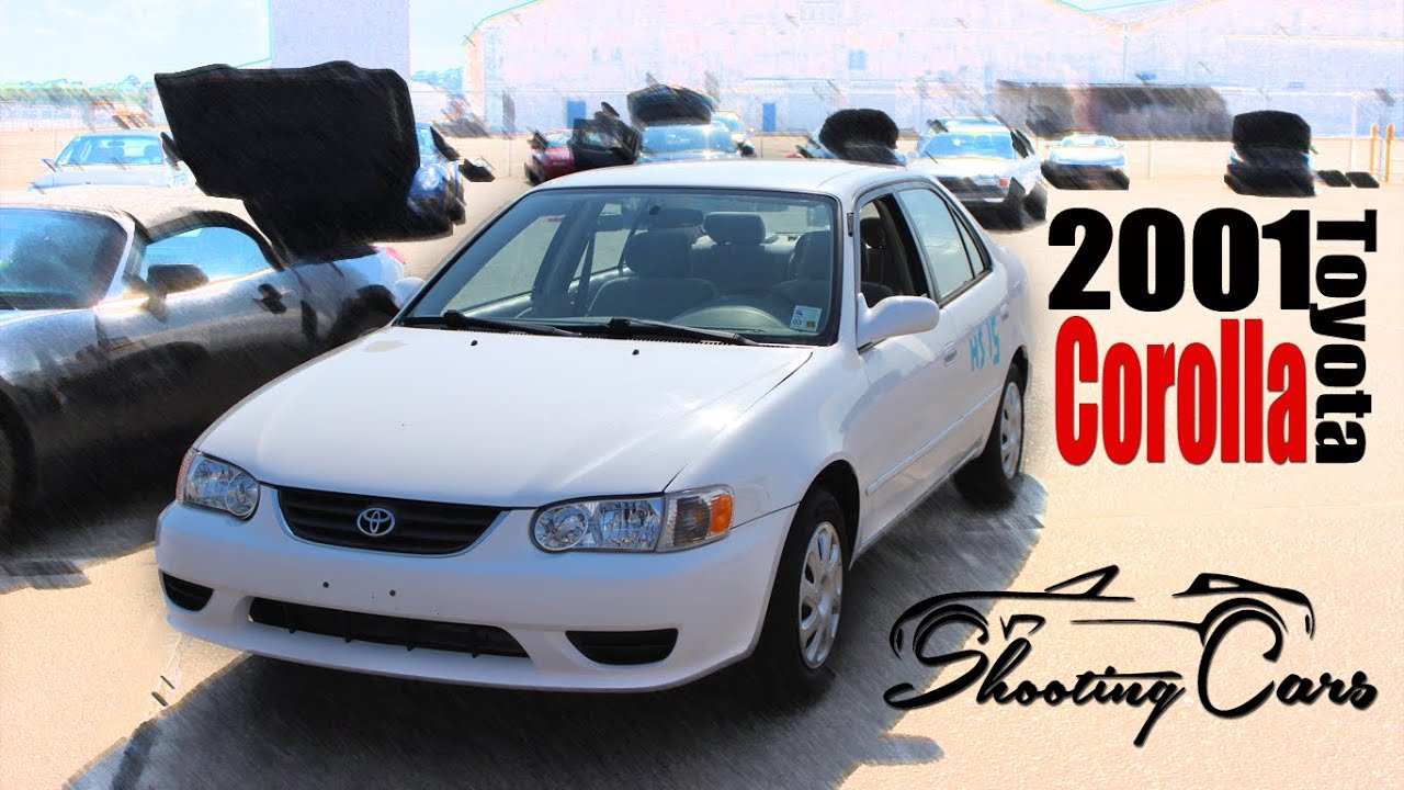 High Quality 2001 Toyota Corolla; An In Depth Review!   YouTube