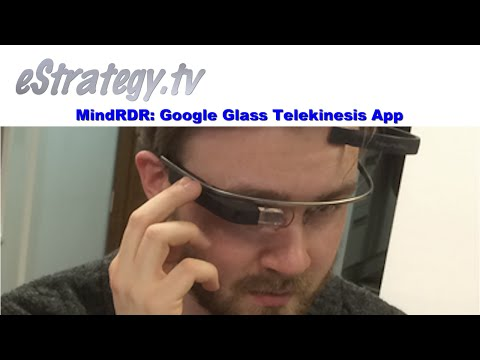 MindRDR: Google Glass Telekinesis App