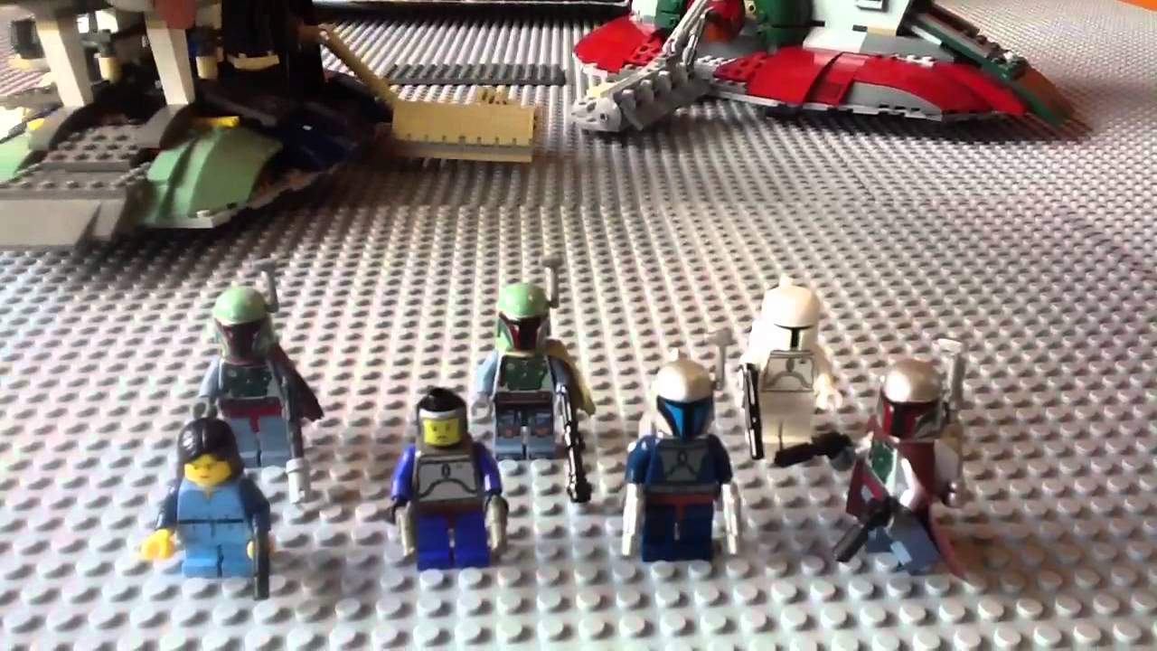 Lego Star Wars 7153 Jango Fett Slave 1 Review Part One